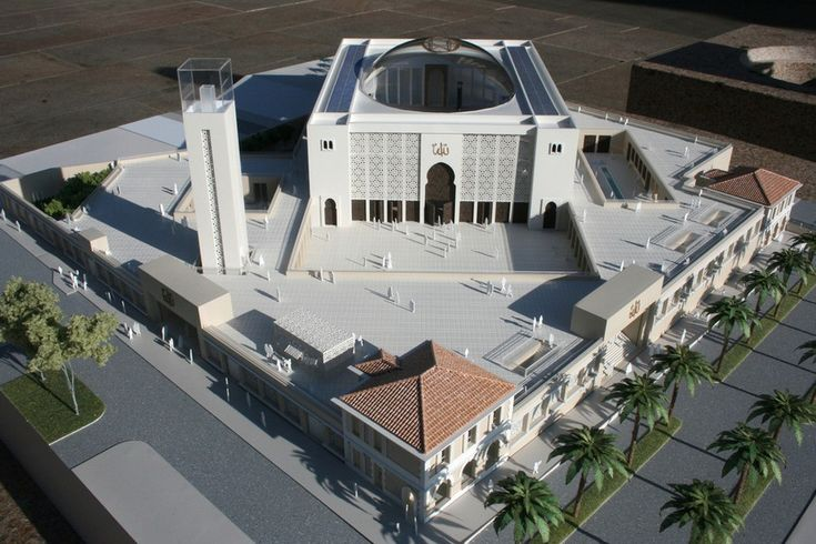 Marseille Grand Mosque Building