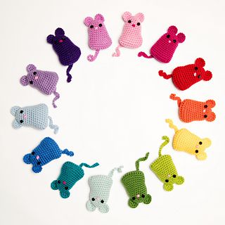 Crochet Mouse pattern by Loops & Threads™ Design Team