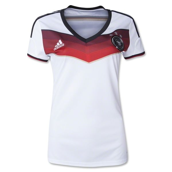 Germany 2014 Women s Home Soccer Jersey  47aa581e1
