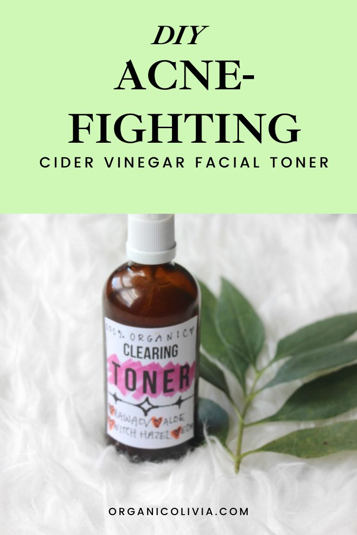 DIY AcneFighting Cider Vinegar Facial Toner Facial
