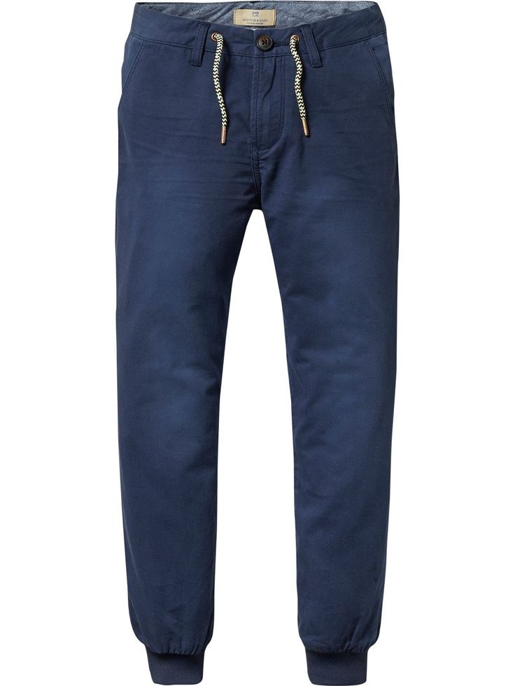 Jogger Chinos | Relaxed Slim Fit
