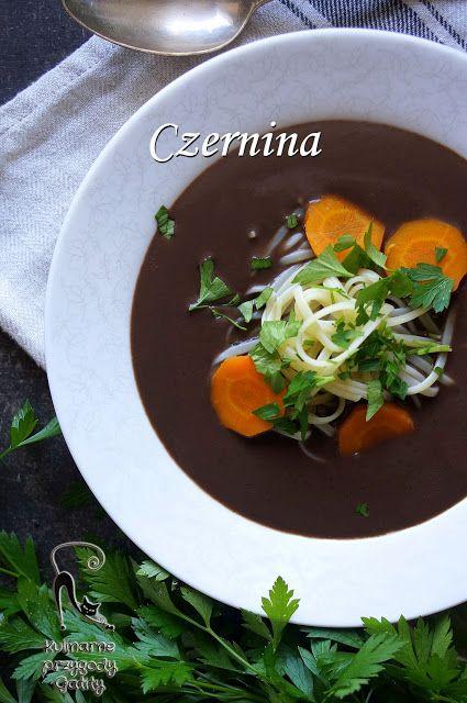 Kulinarne przygody Gatity: Czernina, czarna polewka