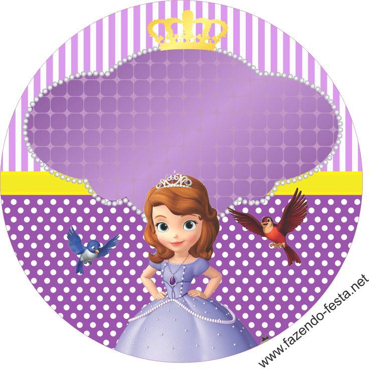 Completo Kit de Princesa Sofía para Imprimir Gratis. - Ideas y ...