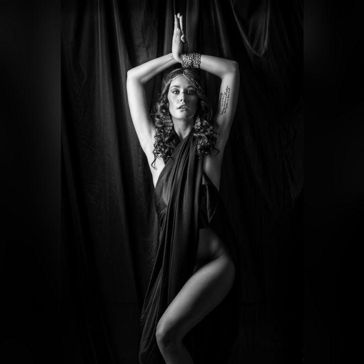 Emilie wears black by J.A Kamfjord on 500px. #beautiful #beauty #black #fashion #female #girl #hair #henna #light #model #sexy #tattoo #tattooed #ink #inked #oriental #bellydance #dark #black #blackandwhite #photography #augsburg #munich #münchen #stuttgart