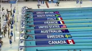 Swimming - Men's 4X100M Freestyle Relay - Beijing 2008 Summer Olympic Games.