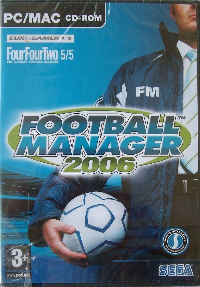 Details About Football Manager 2006 Soccer Pc 2005