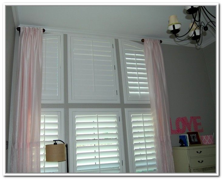 Outdoor Curtain Track System Arched Window Curtain Rods