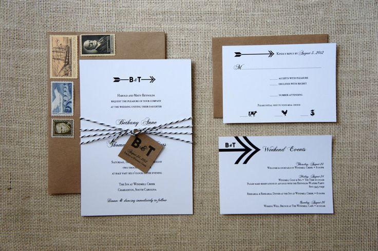 Tribal Arrows Wedding Invitations: Dawncorrespondence, Wedding Ideas, Arrows Wedding, Invitation Ideas, Wedding Invitations, Weddings Invitations, Grooms Weddinginvitations, Bride