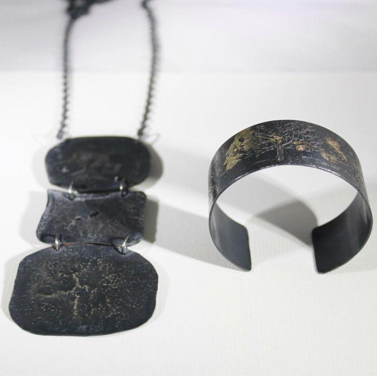 Danu cuff and Pendant