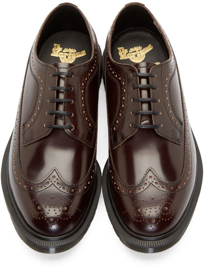 Dr. Martens Merlot Longwing 3989 Brogues