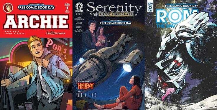 Here's All The Fancy Free Comics You'll Be Reading On Free Comic Book Day 2016