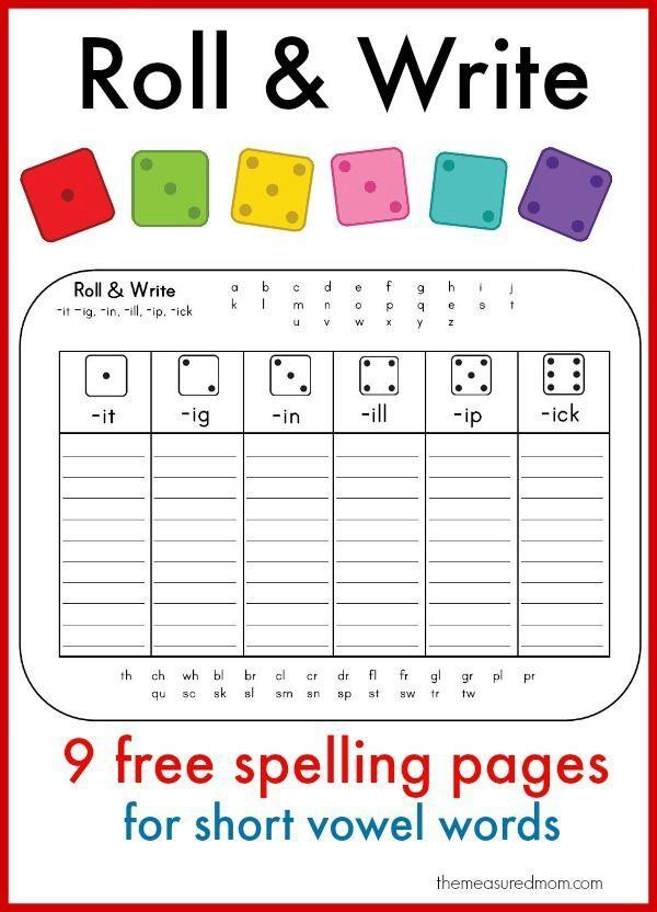 26 best Spelling Games & Worksheets images on Pinterest | English ...