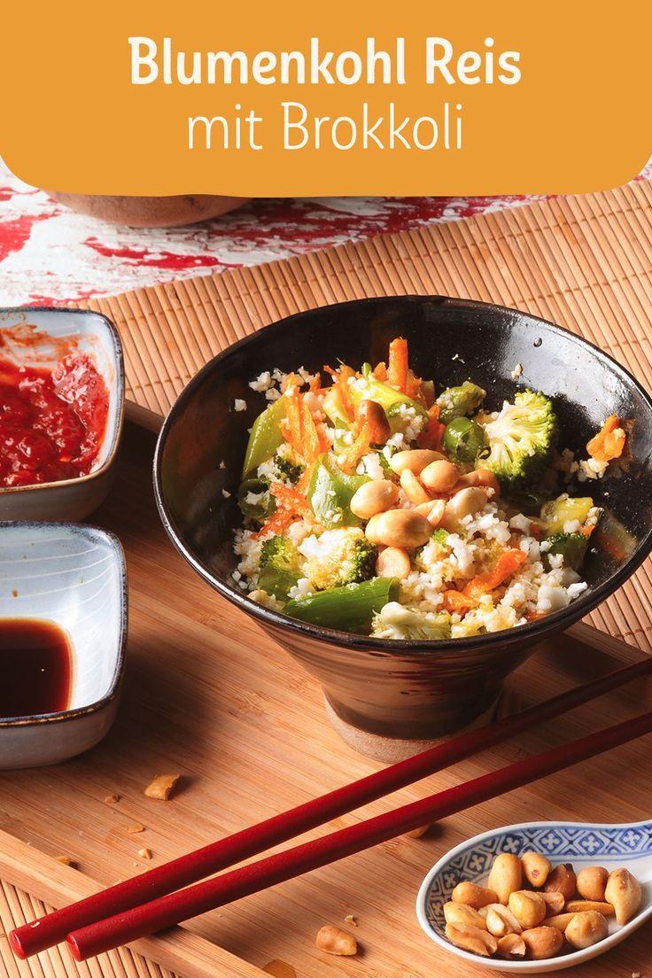 Cauliflower rice with broccoli Too much cauliflower rice