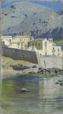 marine oil paintings: Francesco Lojacono