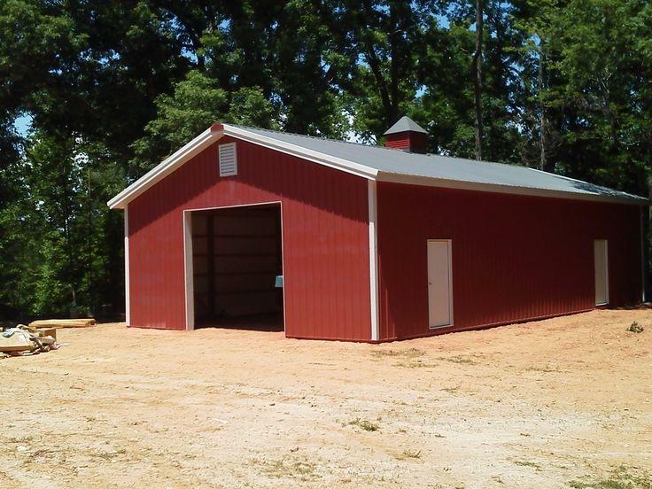 30x50x12 Garage National Barn