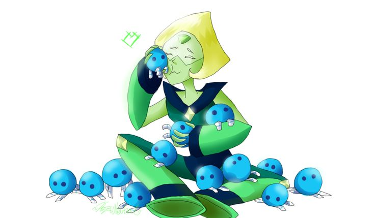 Peridots steven universe and babies on pinterest