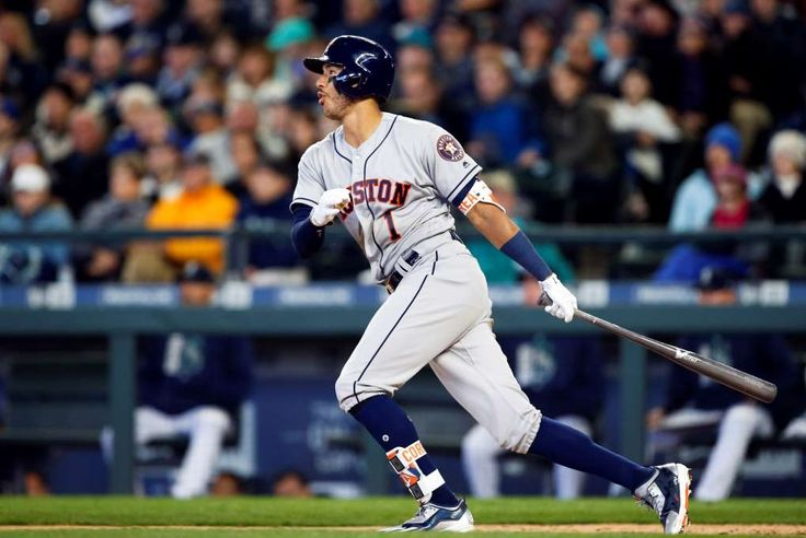 Seven most impressive young cornerstone players in MLB today  -  April 21, 2017:     Carlos Correa, shortstop, Houston Astros