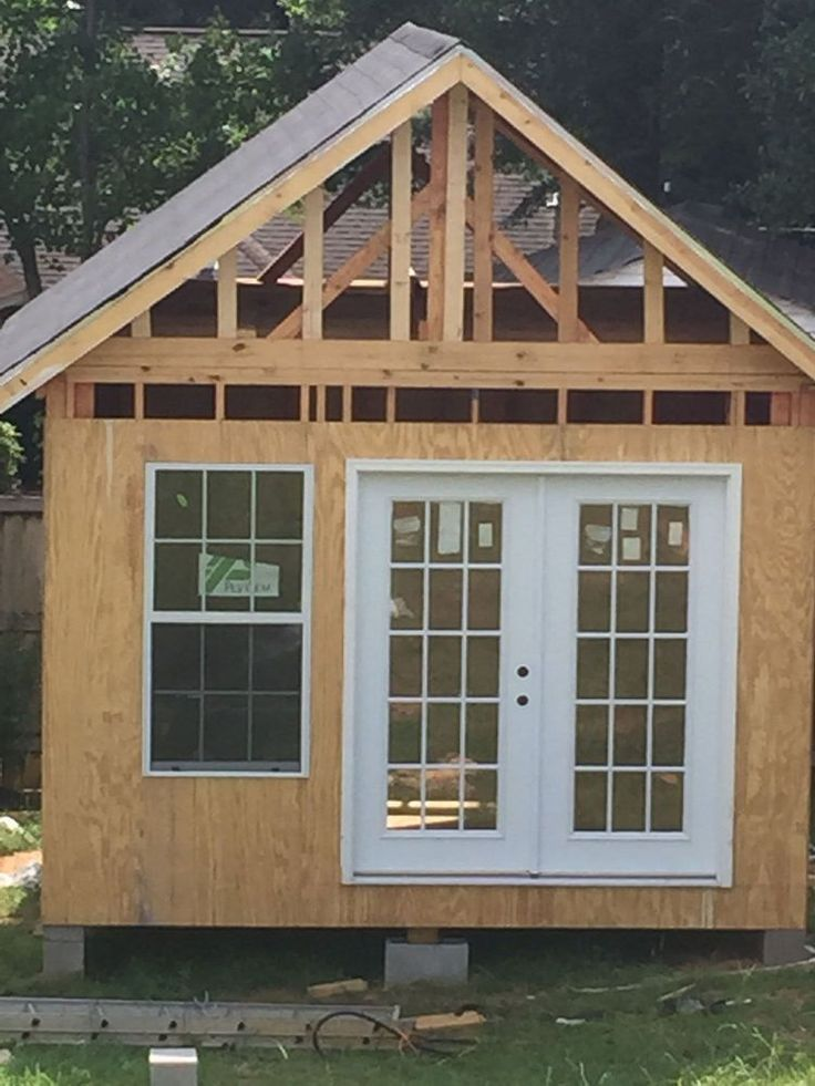A Husband Builds His Wife A Little Shed But What She Does