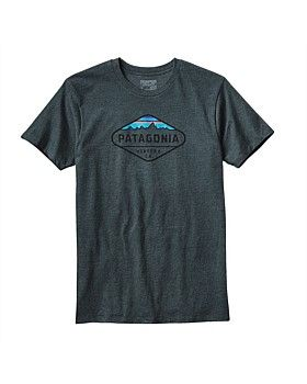 The Men's Patagonia Fitz Roy Crest T-Shit is a slim-fit T-shirt made with a 50/50 blend of U.S. grown organic cotton and post-consumer recycled polyester. Screen-printed with PVC- and phthalate-free inks. Buy Now http://www.outsidesports.co.nz/brands/patagonia/PG38907/Patagonia-Fitz-Roy-Crest-T-Shirt---Men's.html#.WIUydlN95t8