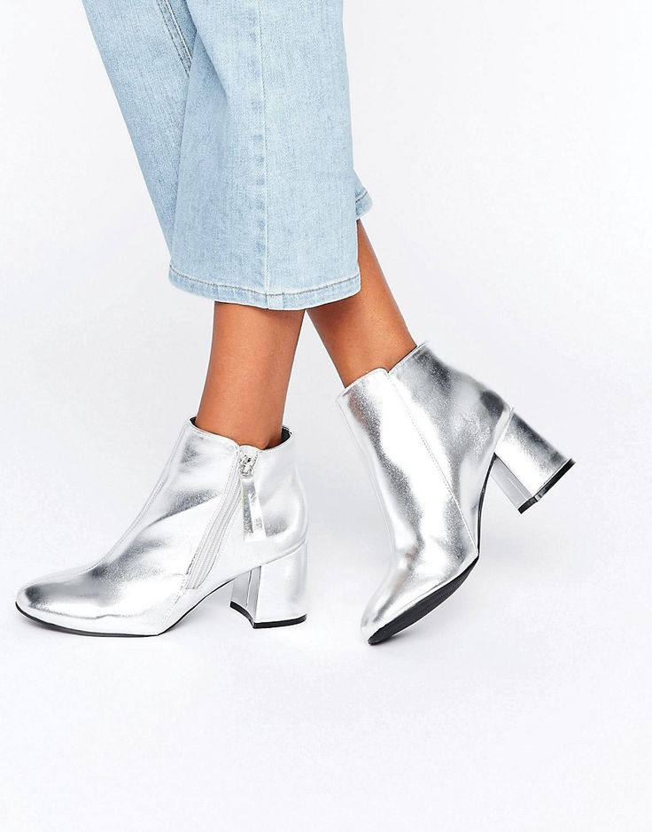 SHOP | Silver boots