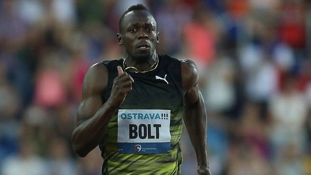 Usain Bolt hasn't run out from 10 seconds on a hundred-meter race, but has won