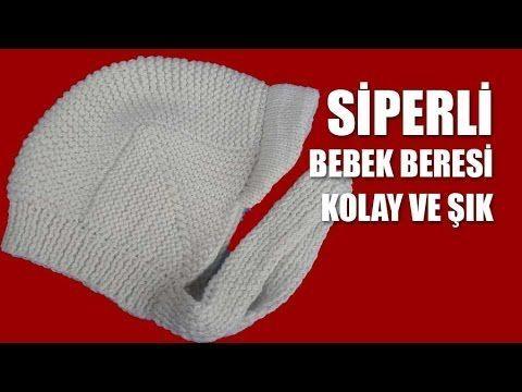Siperli Bebek Şapkası - YouTube