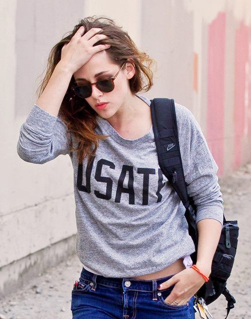 Kristen Stewart On Casual Style Her Style Pinterest Casual Styles Casual And Style