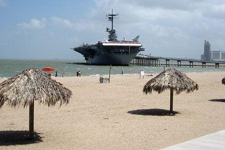 Corpus Christi Beaches Texas Jabra Pin to Win