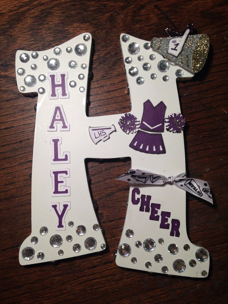 Cheerleading Locker Decorations. Cheerleading letter 46 best Locker Decorations images on Pinterest