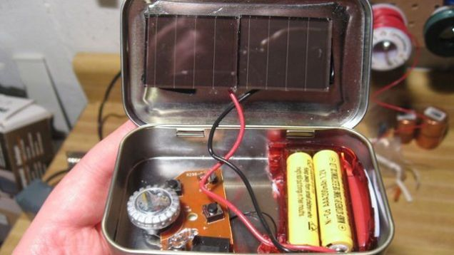 If you're a beginning electronic hobbyist looking for an inexpensive project or just want to have a solar-powered radio to throw in your zombie apocalypse kit you'll have fun making this emergency radio using cheap solar garden lights, an FM radio, and a spare mint tin.