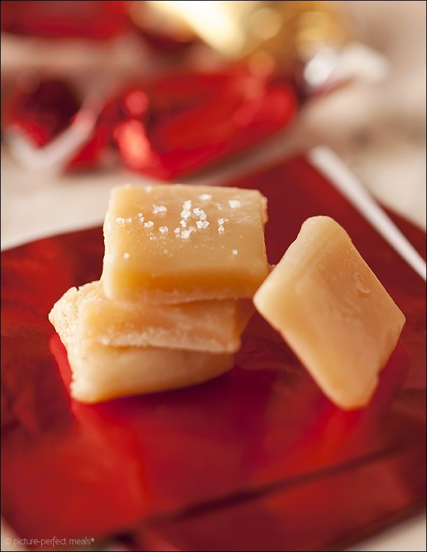 Soft Vanilla Caramels - rich, buttery candy that makes a wonderful holiday gift.
