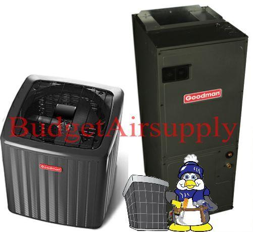 Goodman 3.5 Ton 16 Seer A/C System GSX160421   ASPT42D14 - Budget Air Supply