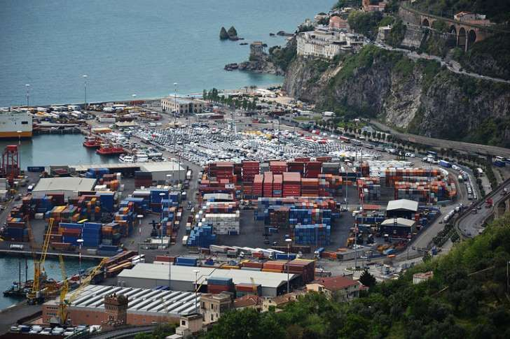 Port w Salerno