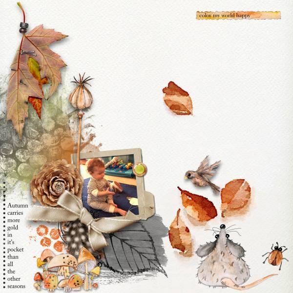 Autumn Credits: Autumn Collection by Dawn Inskip.