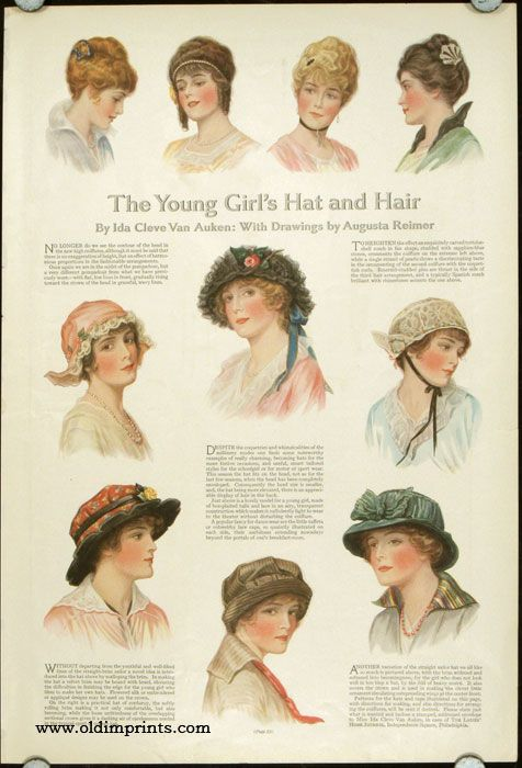 The Ladies Home Journal 1914 The Young Girl S Hat And