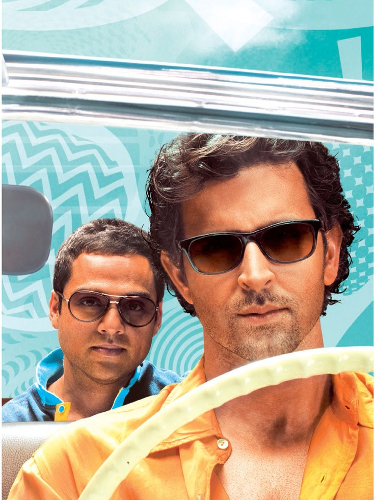 The style statement of Hrithik Roshan in the film ZNMD goes parallel with his character and portrays his classy fashion sense. This black wayfarer of Opium worn by Hrithik is perfectly shaped like his chiseled body and provide a simple yet professional look . The shape is more or less like a 70's classic look but the black shade & well cut design on the sticks make it cool for this generation also. The glasses are a hot property this season and can surely transform your look into a killer…