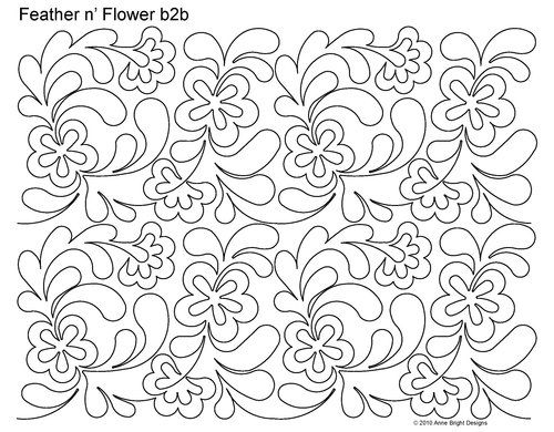 Asian longarm pattern digitized