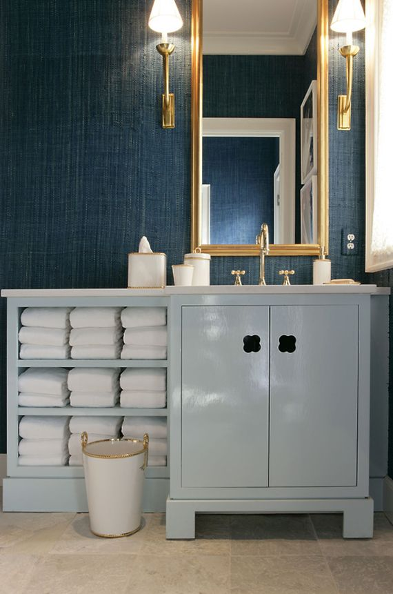 blue bathroom vanity   Jamie Drake. 58 best Blue Bathrooms images on Pinterest