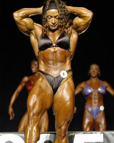 Pin By Andi On Colette Guimond Bodybuilding Female