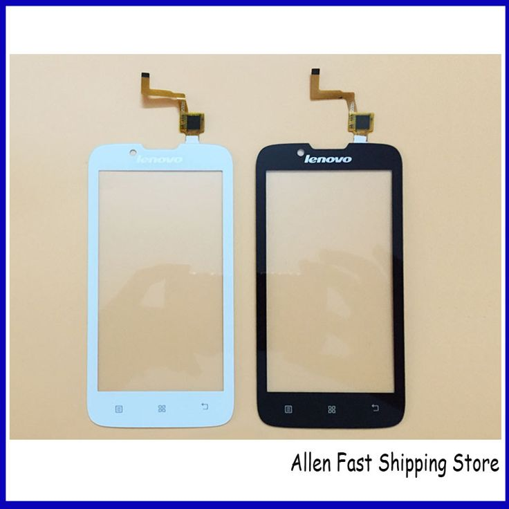 Original New 4.5 Inch Touch Screen For Lenovo A328 Front Glass Outer Lens Digitizer Sensor Glass Touch Panel, Black/White