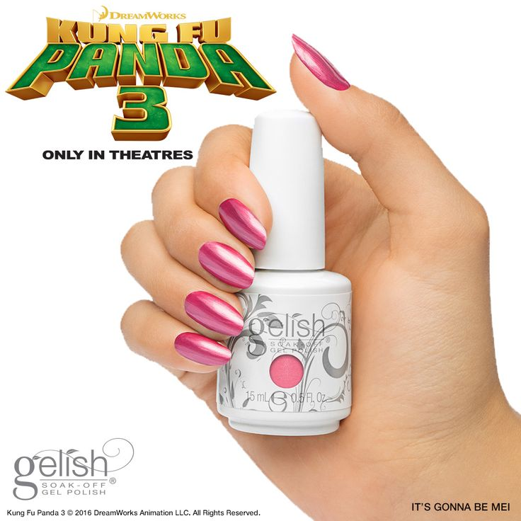 It's Gonna Be Meiis a frosty medium pink. While Gelish does have a couple of other frosty pinks in their line (Tutti Frutti, Taffeta & Tex'as Me Later), this color is much more vibrant.