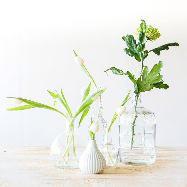 Styling tips: Vazen en bloemen | Flowers | Stek Magazine woonapp