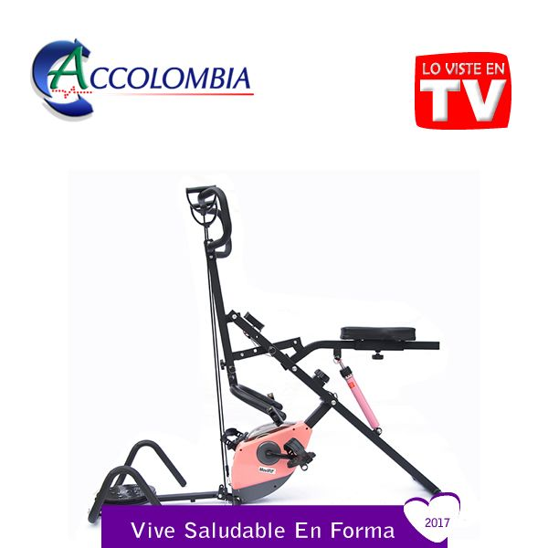 Total Crunch Bike Family Combo 7 en 1 Rosado