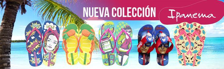 Disfruta de nuestra nueva colección de sandalias Ipanema, visita nuestra tienda virtual www.tiendasbranchos.com o pregunta por ellas a nuestra línea de whatsapp 3113846421