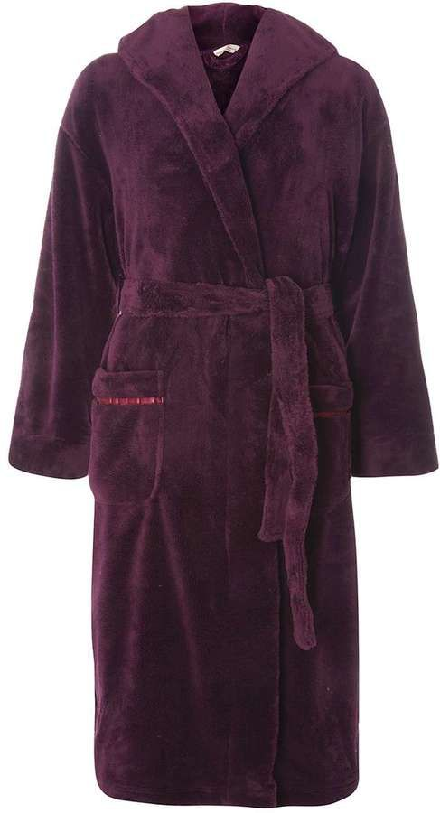 Purple Dressing Gown