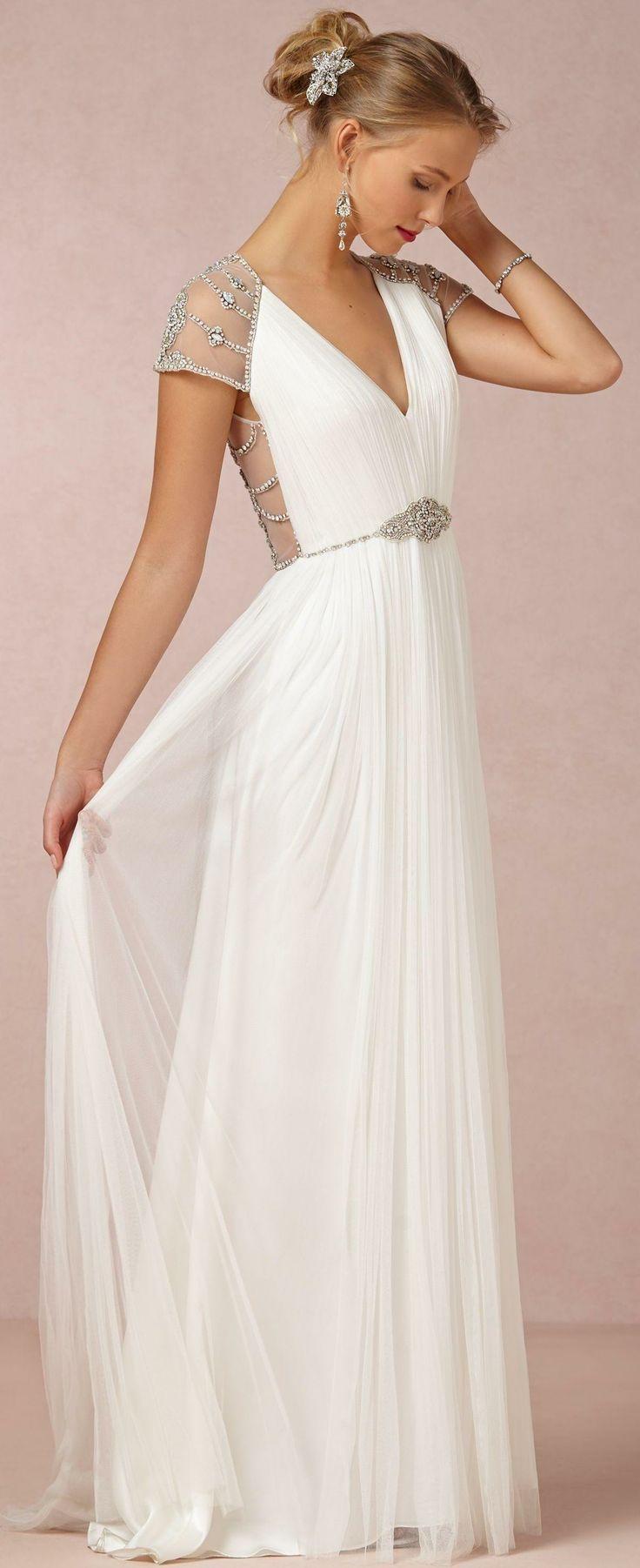 Tallulah Gown Belle robe de mariée, Mariage grec, Idées