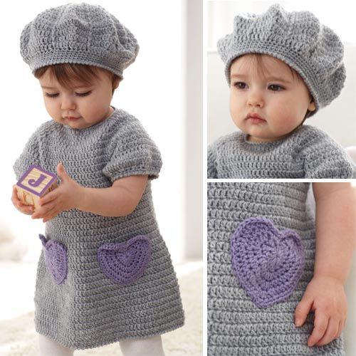 I Heart My Dress Set - Free Pattern