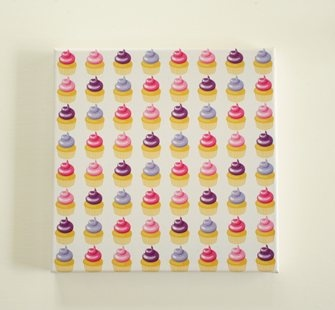 Pattern Power Cupcake wall art and decor for kids rooms | Lottie Coco