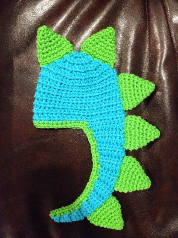 Dinosaur Crochet Hat With Tail Photography Prop  by beaniebird, $17.00Tail Photography, Crochet Hats, Jaylene Birthday, Dinosaurs Crochet, Baby Crochet, Fabrics Crafts, Knitty Things, Photography Props