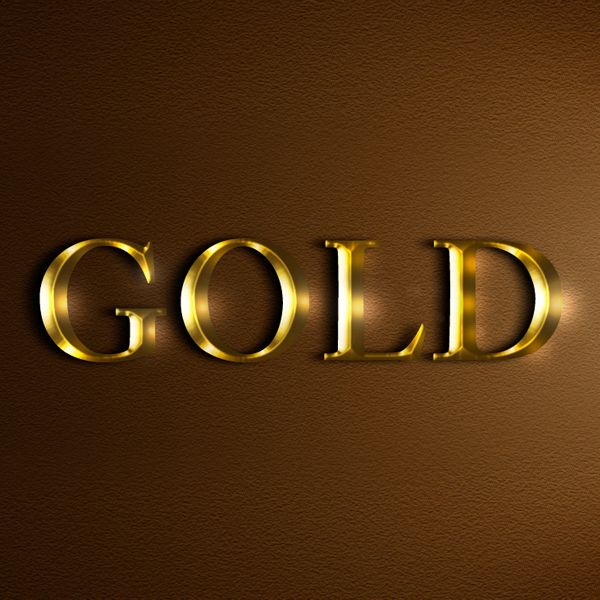 Learn a realistic gold text effect in Photoshop